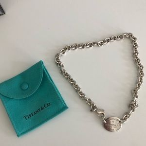 Return to Tiffanys Sterling Silver Necklace